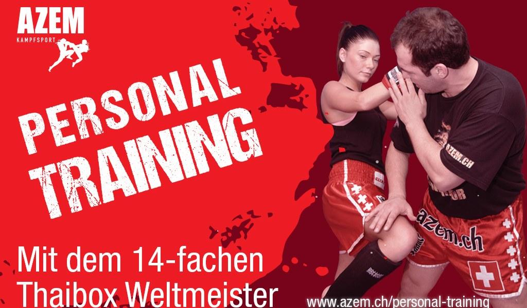Personal Training mit dem 14- fachen Thaibox Weltmeister