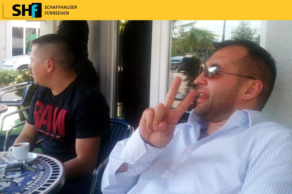 Azem ist Gast in der Sendung Heute im Gespräch