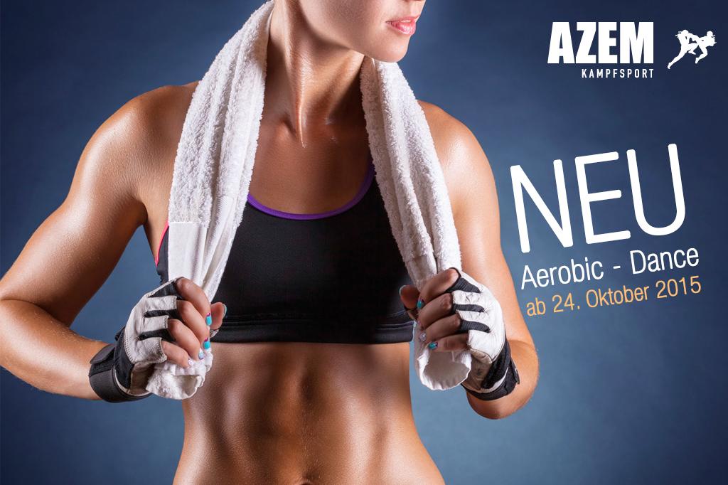 NEU ab 24. Oktober 2015 jeden Dienstag Aerobic- Dance