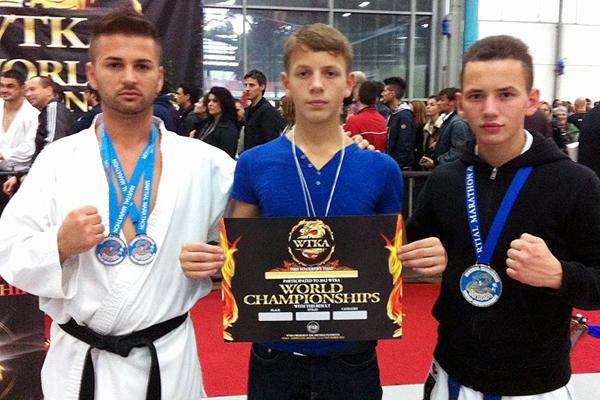 Cadet aus Niederuzwil wurde Karateweltmeister