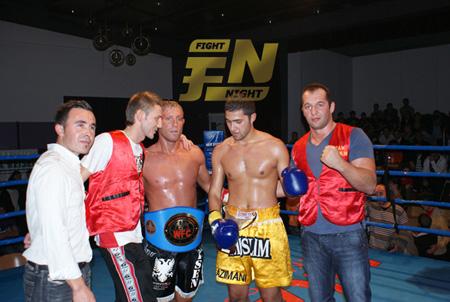 Isen Gjugjaj ist neuer WFC-Europameister