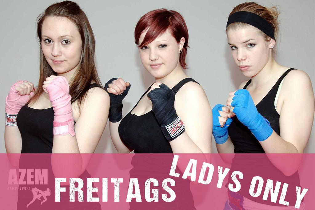 Azem Kampfsport von Frauen für Frauen immer am Freitag