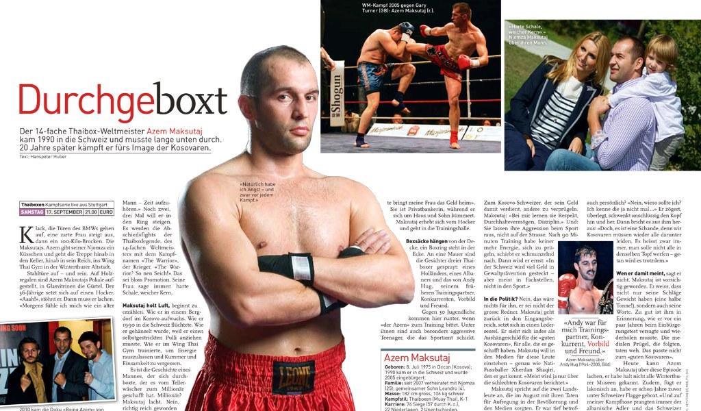 Bericht im Tele Magazine