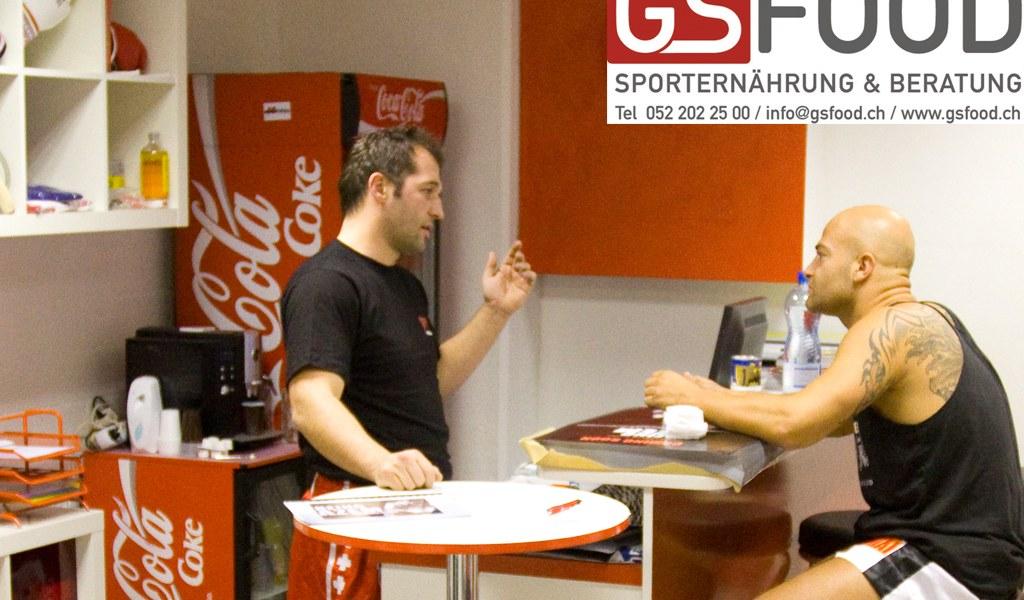 Ernährungsberatung gemeinsam mit GS Food und Azem