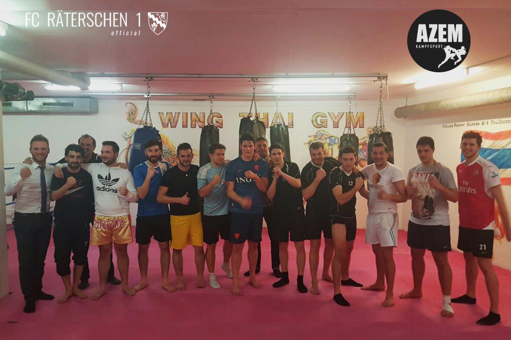 Azem Kampfsport FC Räterschen 1 Vorbereitung