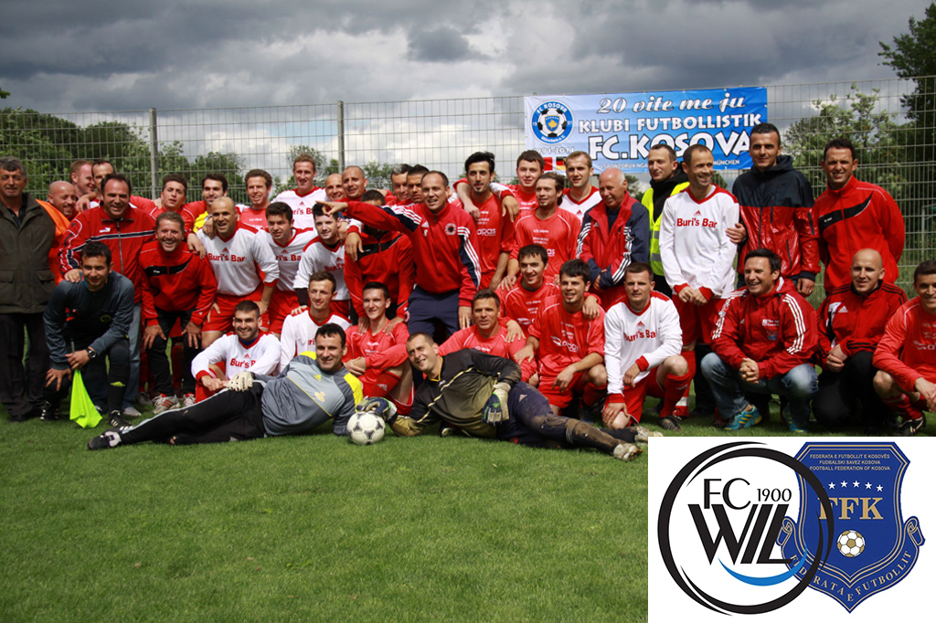FC Wil 1900 - Nationalmannschaft Kosovo