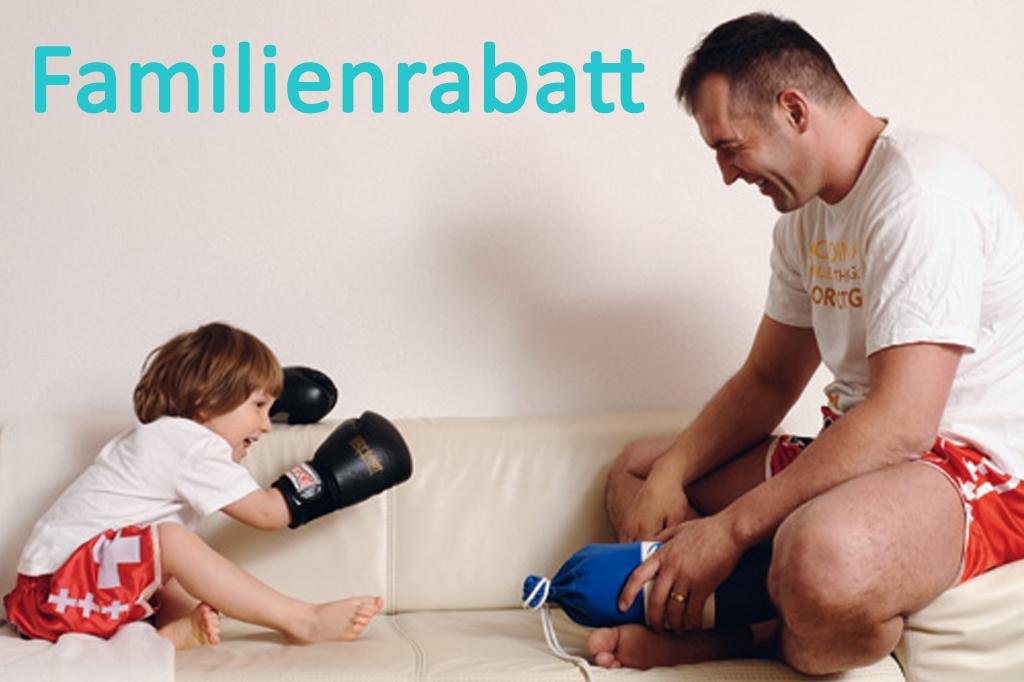 Familien Rabatt - Sparen Sie 100 Franken pro Person