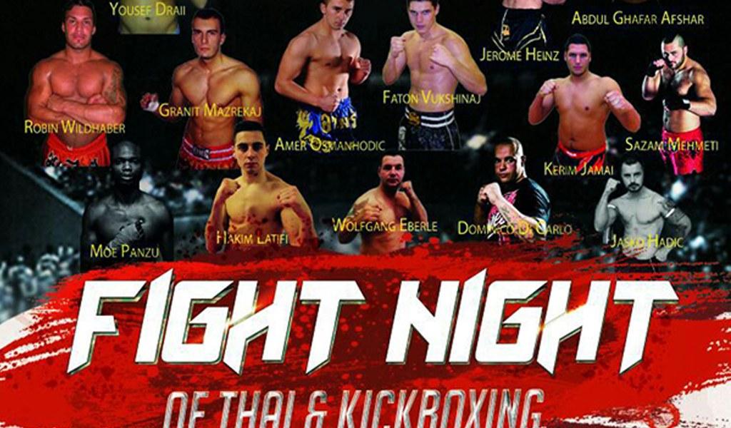 Fight Night of Thai und Kickboxing Sporthalle Gries, Volketswil