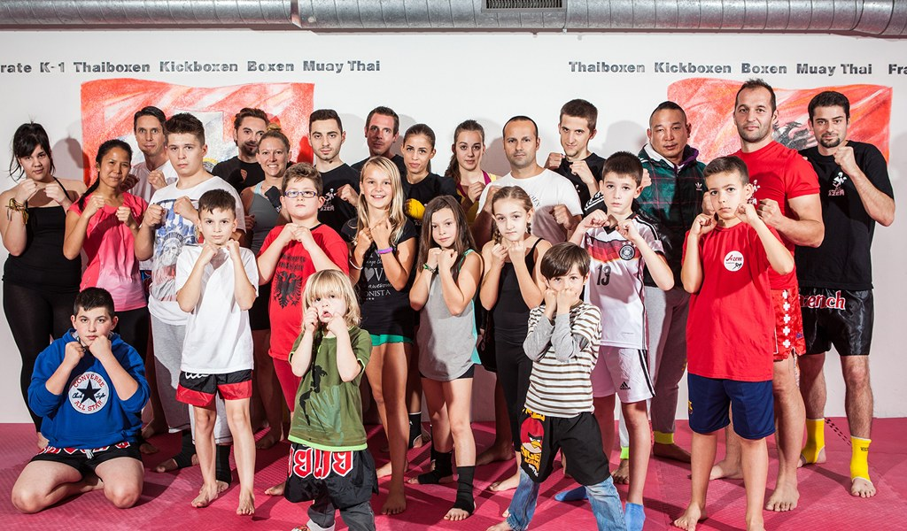 Azem Kampfsport Team Weihnachtsessen 2013