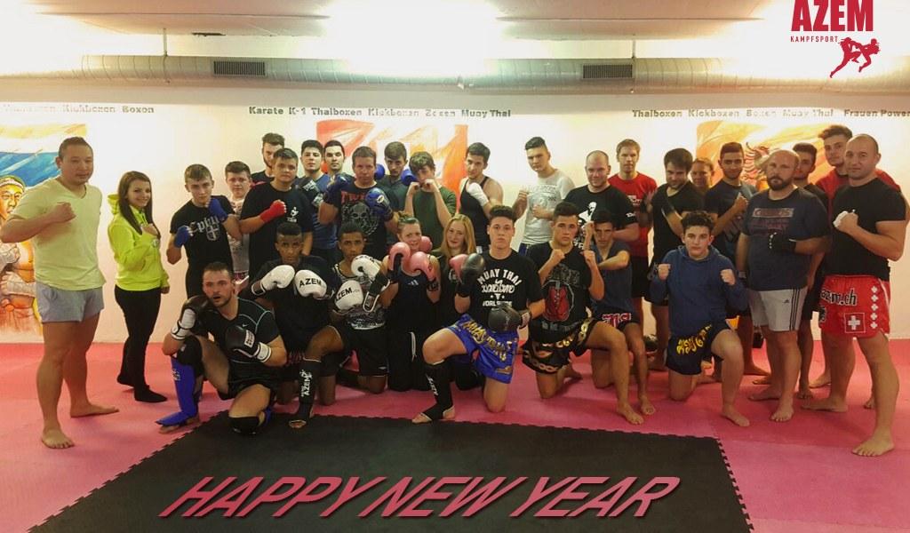 HAPPY NEW YEAR – Sportliche Grüsse vom Azem Kampfsport Team
