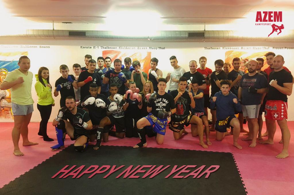 Azem Kampfsport Happy New Year