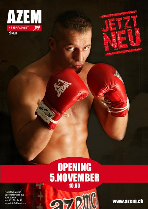 Opening Azem Kampfsport Zürich
