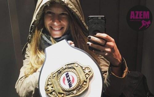 Herzliche Gratulation an Lea Fürer zum Titelgewinn Schweizermeisterin in Thaiboxen!