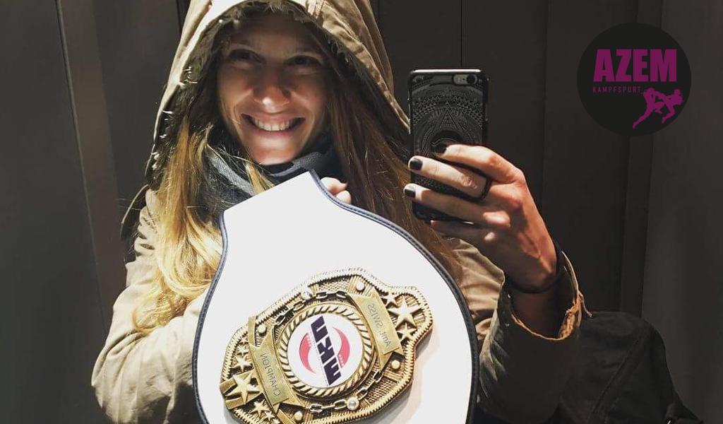Lea Führer Schweizermeisterin Thaiboxen