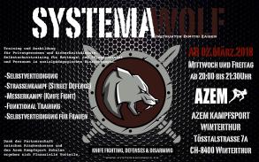Neu Systema bei Azem Kampfkunstcenter ab 2. März 2018
