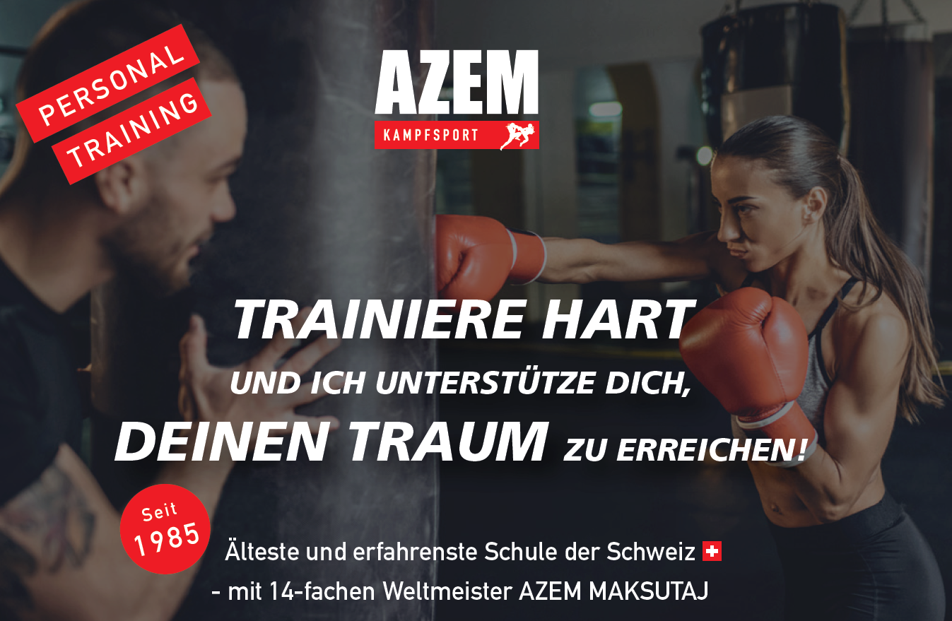 Personal Training mit Azem